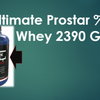 Ultimate Prostar %100 Whey 2390 Gr